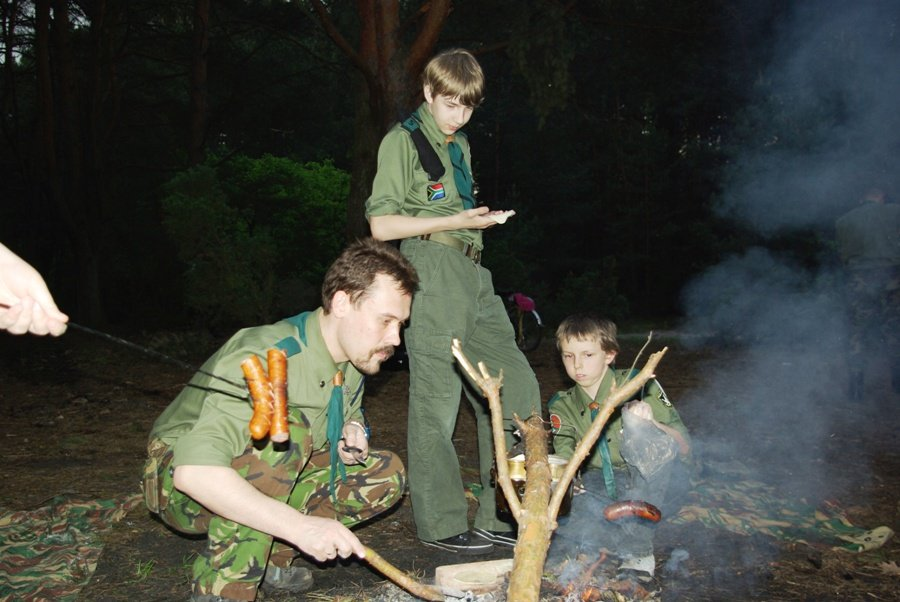 Kuchnia w lesie