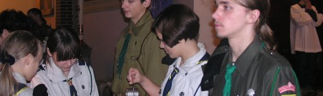 Betlejemskie Światło Pokoju 2004 - Józefów