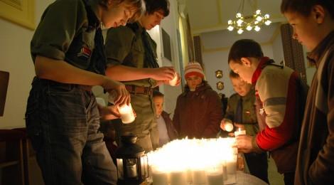 Betlejemskie Światło Pokoju - 19 grudnia 2010