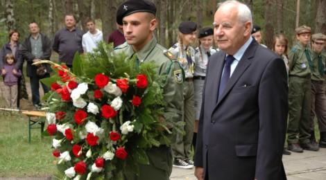 """Uroczystości na """"Górze lotnika"""" - 15 sierpnia 2012"""