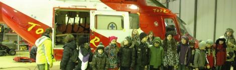 Wizyta w stacji TOPR w Zakopanem