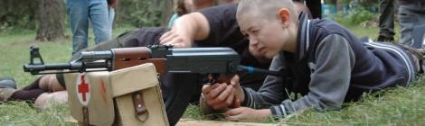 Zuchy na strzelnicy ASG