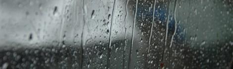 Dziś obudziło nas dudnienie deszczu w namiot