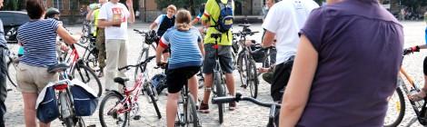 Rajd rowerowy szlakiem Powstania Warszawskiego