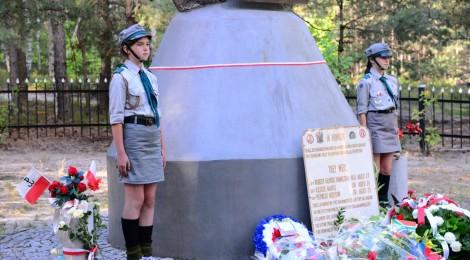 """Uroczystości na """"Górze lotnika"""" - 14 sierpnia 2013"""