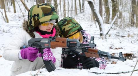 """""""Co kryje Góra Sobotów"""", gra na bunkrach w Wiązownie - 28 grudnia 2013"""