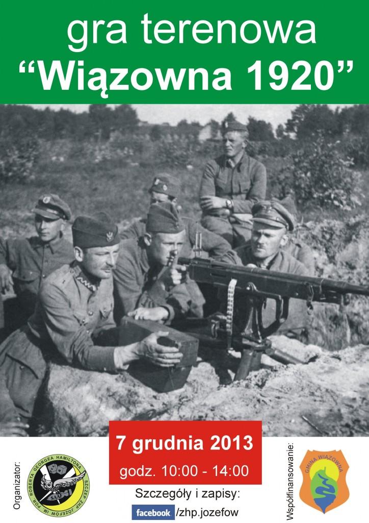 Wiazowna 1920 - plakat