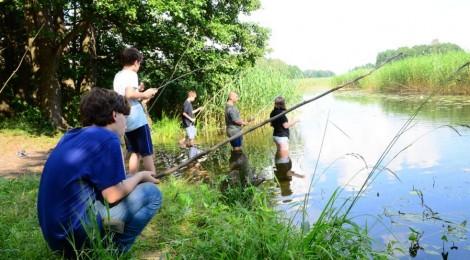 Byliśmy dziś na rybach