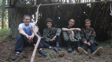 """24h w lesie czyli relacja z """"Robinsona"""""""